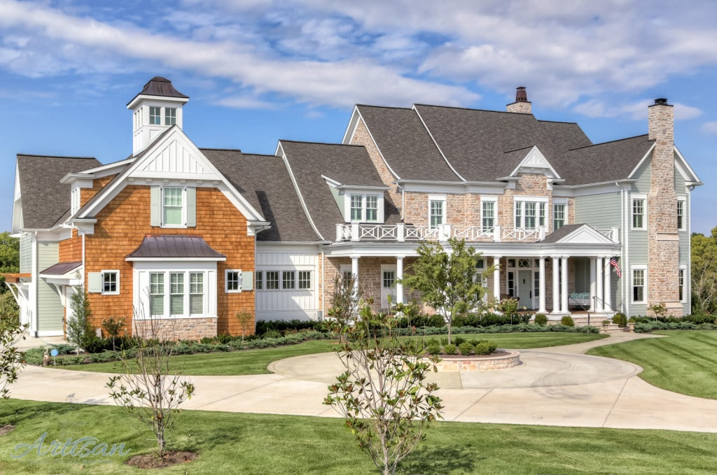 Artisan signature homes custom home builder louisville for Country house builders