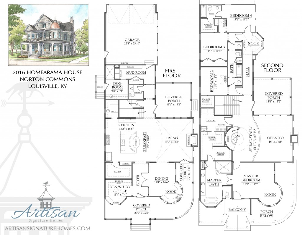 New Tradition Homes Floor Plans Best Of Alexandria Floor: Artisan Signature Homes