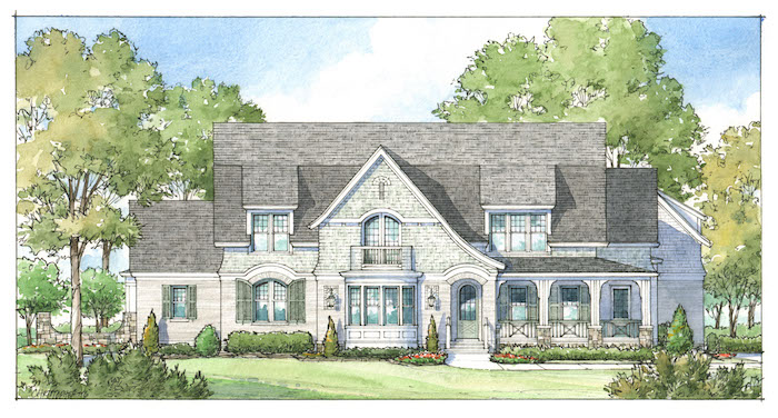 Artisan signature homes custom home builder louisville for Home construction styles