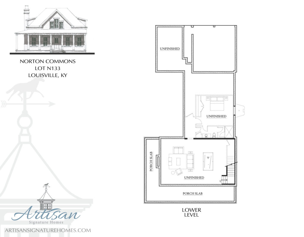 Artisan signature homes custom home builder louisville for Signature house plans