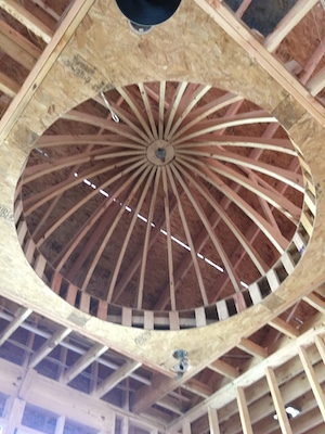 roughed-in-dome-for-louisville-custom-home-builder